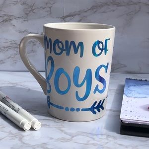 Mom of Boys mug  *No Markdowns*